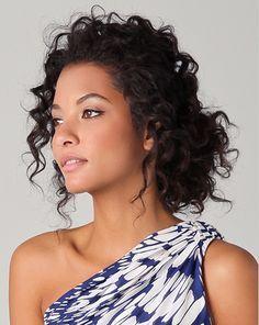 Curly Hair Bun styles