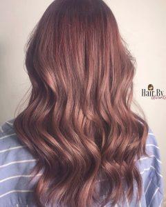 brown strawberry tone